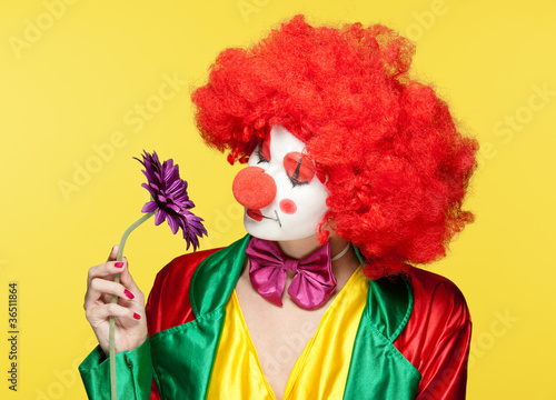 colorful clown