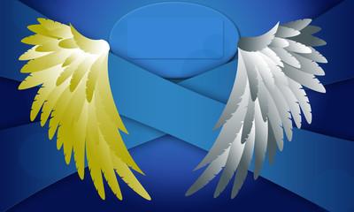 Wings banner