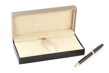 A pen in a gift box