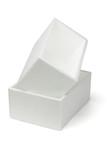 Two Styrofoam boxes