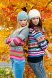 teen girls having problems poster