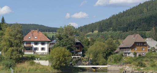 Schluchsee at summer time