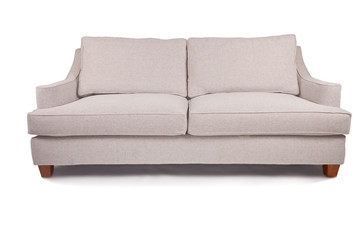 Large white couch sofa or love seat