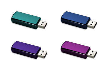 Cool flash drive / bluetooth dongle
