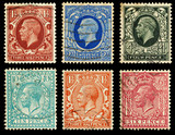 Britain Postage Stamps King George V