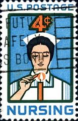 Nursing. US Postage.