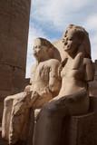 Statua Tutankamon e moglie