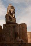Statua Ramesse a Luxor