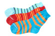 Child's striped socks