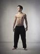 Fototapeta Brzucha - Mężczyzna - Mężczyzna