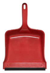 red dustpan