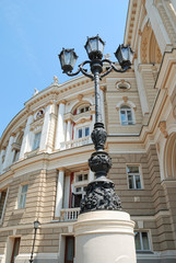 architectural details. palace and lantern