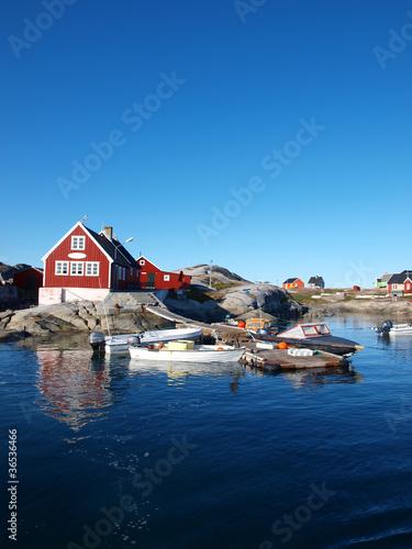 Plexiglas Antarctica 2 Oqaatsut fisher village.