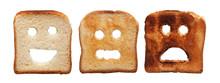 "Постер, картина, фотообои ""Toast bread differently burned"""