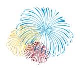 Fototapety fireworks vector