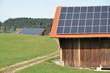 Solaranlage auf Scheune