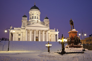 Lutheran Cathedral - winter morning