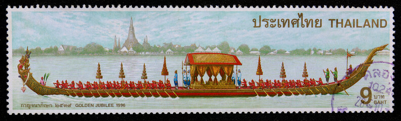 Stamp  printed in Thailand