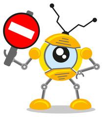 traffic sign robot