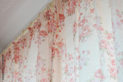 curtain fabric background texture - 36545838