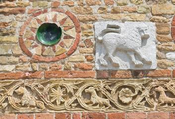 Pomposa Abbey. Codigoro. Emilia-Romagna. Italy.