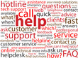 """HELP"" Tag Cloud (helpline sos urgent customer service hotline)"