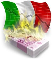 crisi italia euro