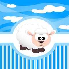 animali della fattoria, pecorella, percora