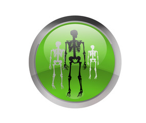 skeletons button