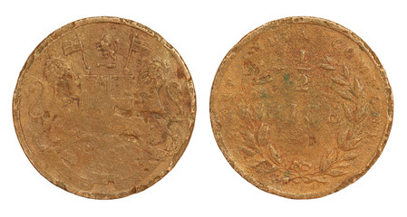 Old Indian Coin of British East India Company