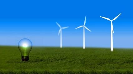Energiesparen, grüne Energie