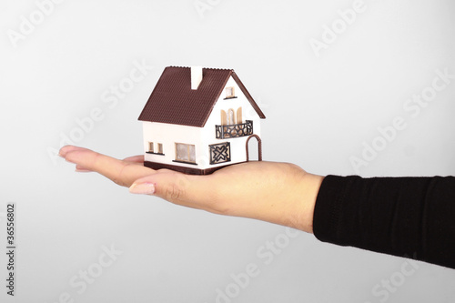 Haus in Hand