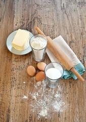 Butter cookies ingredients
