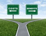Costs and benefits poster