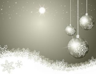 christmas sky silver