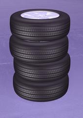 Tires 3d