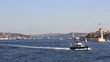 Sailing in Bosphorus Sea