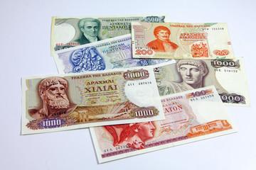 Griechische Dramen Banknoten