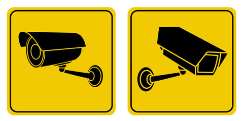 Surveillance Camera Signs