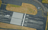 Fototapety Preparing for Takeoff - Aerial