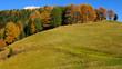 Autumn on the mountain, Dolomite Alps, Italy