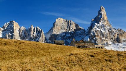 Passo Rolle -  Capanna Cervino - Dolomiti