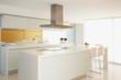 Islands in modern kitchen