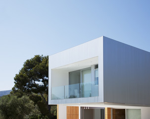 Architecture of modern house