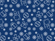 Blue Christmas wallpaper