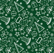 Green Christmas wallpaper