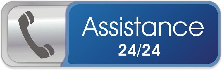 bouton assistance 24/24