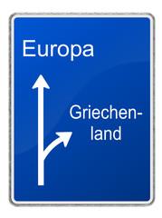 Trennug EU und Griechenland