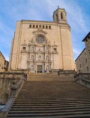 cathedral de Santa Maria of Girona, Spain