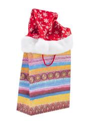 gift bag and a hat Christmas